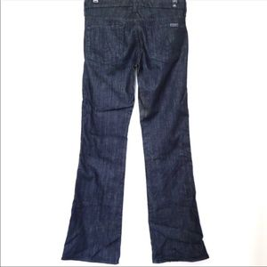 7 For All Mankind A Pocket Dark Jeans 25